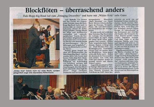 Pressemeldung vom 07.12.2007