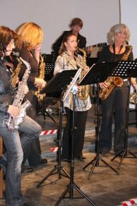 2008 Proben vor dem Konzert