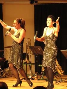 """2011 Konzert """"Big-Band trifft Gesang"""""""