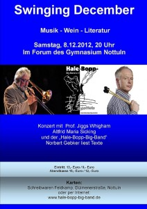 Veranstaltungsplakat 2012